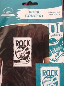 """NEW!  SCREEN SENSATION 5X7"""" ROCK CONCERT MUSIC SCREEN STUNNING  RRP £12.99"""