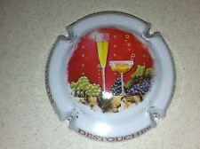 Capsule de Champagne SENDRON-DESTOUCHES (10. contour blanc)