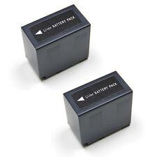 2x BATTERIES for Panasonic CGA-D54 AG-DVC30 AG-DVC32 AG-DVC33 6.0Ah BATTERY X 2