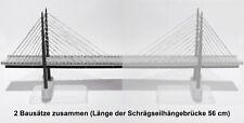 Spur-Z, Brücke, große Schrägseilbrücke (2-gleisig für Bahn oder als Autobrücke)