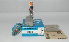 MÄRKLIN MARKLIN H0 : 7038 segnale di preavviso h. cm 7 pari al nuovo : 1970 ++++
