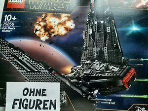 LEGO STAR WARS 75256 KYLO REN ´S SHUTTLE (OHNE FIGUREN) NEU IN DER OVP PORTOFREI