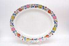 Rare Vibrant Vintage Midwinter 'Eden' design Platter