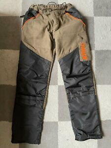 STIHL FS 3PROTECT Protective Trousers For Brushcutter Use