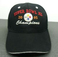 Pittsburgh Steelers NFL Super Bowl XL Champions Blk Strapback Adjustable Cap Hat
