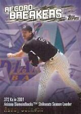 2003 Topps Record Breakers Diamondbacks Baseball Card #RJ1 Randy Johnson 1