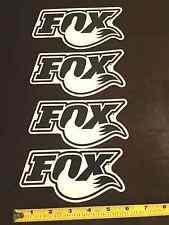 NEW Fox Fork Decals Sticker Shox Shock Coil Air 40 36 Bypass Bump 6x3 Hat Shirt