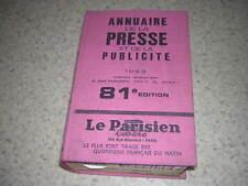 1968.annuaire presse publicité / raymond Méry
