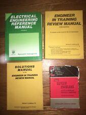Professional Engineer, Pe, Fe, Eit Exam Preparation Book Bundle