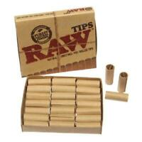 Genuine Raw Rolling Tips - Cone Tips - Pre-rolled Tips - Tip Booklets