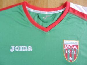 MAILLOT FOOTBALL MCA MOULOUDIA CLUB ALGER FOOTBALL SHIRT ALGERIE
