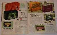 VINTAGE 1953-54 WESTERN AUTO RADIO. TV SMALL APPLIANCE CATALOG! CLOCKS/TOASTERS+