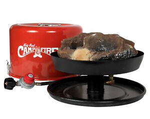 Cam.co 58035 Big Red Campfire - Approved for RV Campgrounds - Includes 10-Foot