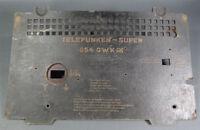 German Telefunken Super Tube Radio Receiver Empfanger Rear Cover Case 054-GWK