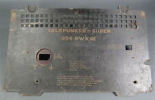 German Telefunken Super Tube Radio Receiver Empfanger Rear Cover Case 054-GWK
