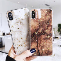 Marble Pattern Attractive TPU Back Shell Phone Case Cover For Apple iPhone X 8 7