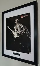 Jimi Hendrix Framed Original NME Plaque-Certificate Very RARE Highly Collectable