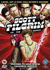 Scott Pilgrim Vs The World (2010) 2-Disc Set Ingrid Haas, Nelson NEW UK R-2 DVD
