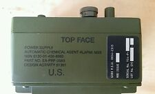 New US Military Power Supply, Battery, Chemical Agent Alarm XM22, Radio, M28