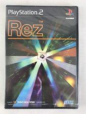 PS2 Rez, NTSC J, Brand New & Factory Sealed