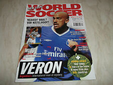 November World Soccer Magazines