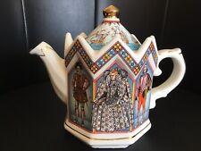 Vintage SADLER Teapot Queen Elizabeth 1st novelty ceramic kitchenware VGC