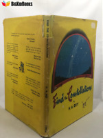 Find the Constellations H. A. Rey 1954 Dust Jacket Early Edition 1st/5th HMCo