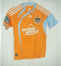 Houston Dynamo Adidas Clima Cool MLS Soccer Jersey Kids Youth Boys Small Used