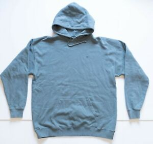 Brixton Sweatshirt Men's Large Pastel Blue Hoodie Sweater Pullover Streetwear