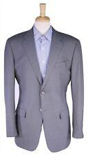 ASTOR & BLACK Custom Made for Dexter Fowler Solid Gray 2-Btn Blazer Jacket 42L