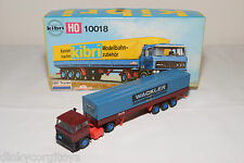 KIBRI KIT 10018 DAF 2800 TRUCK WITH TRAILER WACKLER EXCELLENT BOXED REPAINT