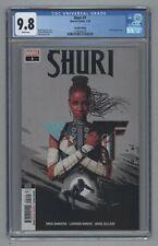 Shuri #1 2nd Print Partial Sketch Variant Sam Spratt Black Panther 2019 CGC 9.8