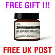 AESOP B Triple C Facial Balancing Gel 60ml + FREE GIFT !!!  RRP £81 EXPIRED DATE