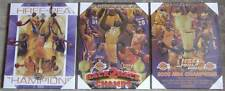 Set of 3 Los Angeles Lakers NBA Finals Championship Picture Plaques 2000-2002