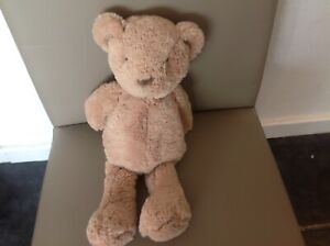 Marks And Spencer M&S Brown Teddy Bear Soft Toy Plush Comforter 04073987