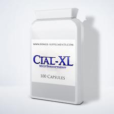 Cial-XL Male Enhancement Food Supplement (100 Pills) Virility Libido Sex Pills