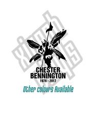 Chester Bennington rip memorial Linkin Park vinyl sticker decal window optional