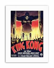 Film King Kong Horreur Monstres photo Toile Art Prints