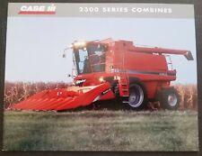 Case - IH 2300 Series Axial Flow Combine Dealer Sales Brochure