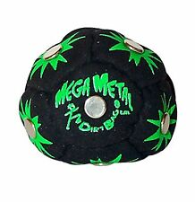 World Footbag Dirtbag Mega Metal Hacky Sack- Footbag Black Free Shipping
