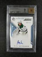 🔥🔥📈 Miro Heiskanen 2018-19 Auto RC BGS 9/10 MINT SP Authentic Future Watch
