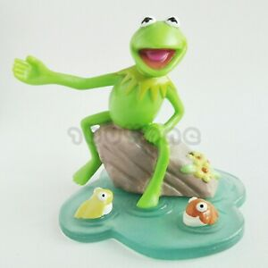 Vintage Kermit The Frog Figure Model Applause Muppets Jim Henson Sam and Friends