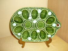Eierplatte - grün - auch zum Aufhängen - Vintage