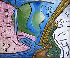 Jean CASTANIER dit LE CATALAN (1903-72) HsP Années 50' Abstraction lyrique CoBrA