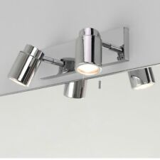 Astro 6121 Como Twin Polished Chrome Finish Bathroom Double Wall Light Switched.