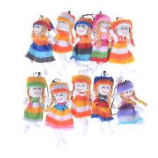 2pcs 7cm Kids Toys Soft Interactive Baby Dolls Toy Wool doll Mini DollLD FG