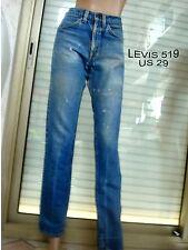 JEANS LEVIS STRAUSS 519 BLEU T 38 US 29