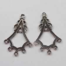FREE SHIP 200pcs tibet silver earring Connectors 38x25mm