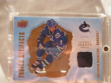 2008-09 UD Artifacts Hockey #FA-BM Brendan Morrison! Frozen Jersey VAN Canucks