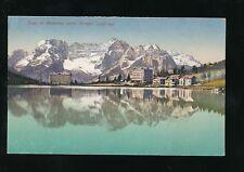 Italy Lago MISURINA Lake Verse Sorapis unused dated 1922 PPC